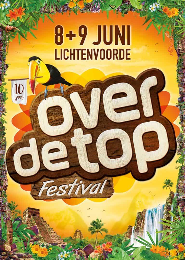 poster Over De Top Festival