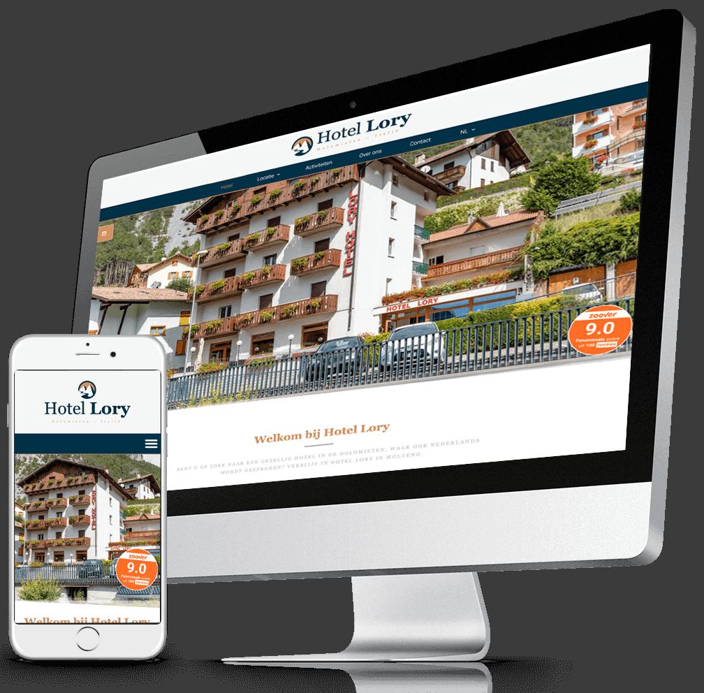 hotel lory webdesign