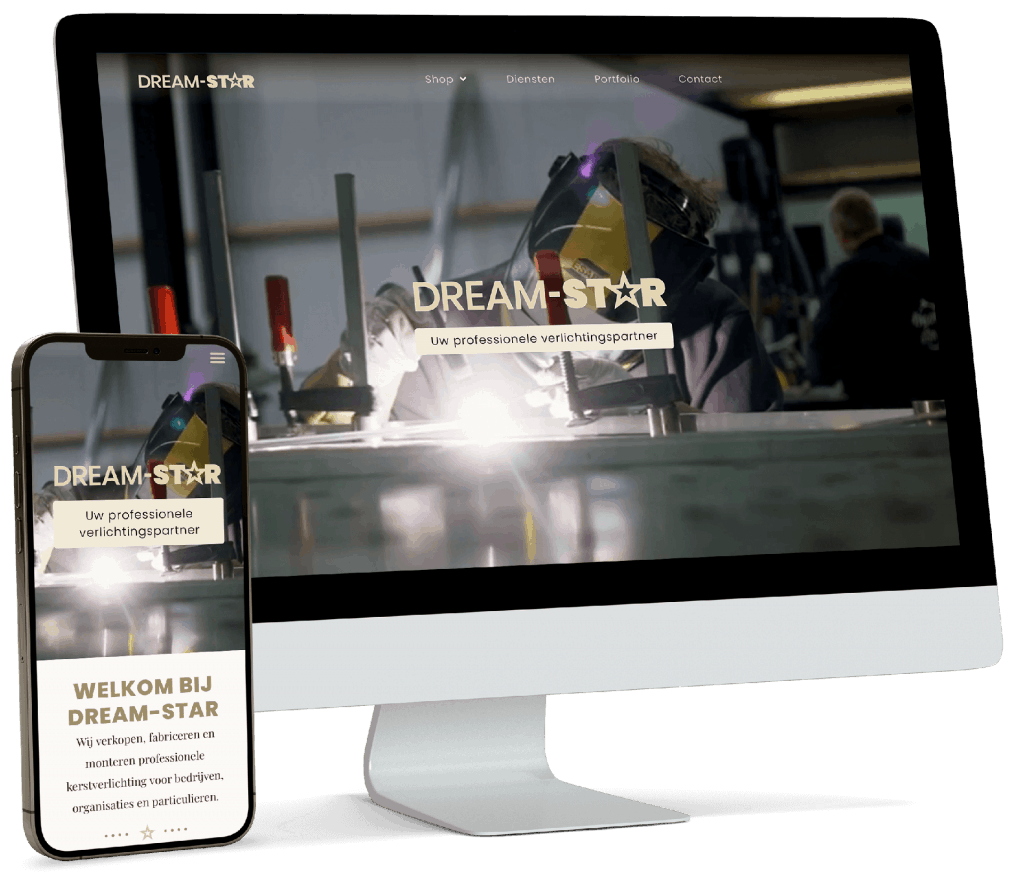Dream-Star website